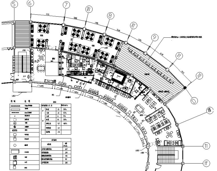 汉堡王河源热水服务区B施工图&预算&结算&设计相关