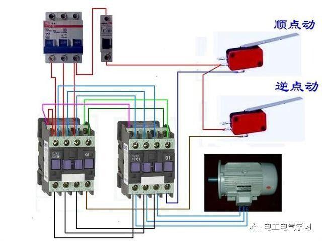 【电工必备】开关照明电机断路器接线图大全非常值得收藏!_64