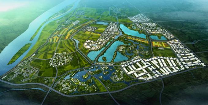 [合集][广东]海峡两岸创意生态农业城市规划设计方案(景观、旅游、详细修建、新农村、总体规划)_11