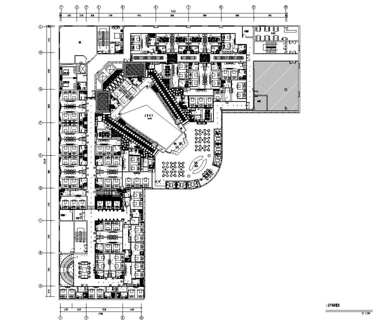 [福建]福州铭濠酒店SPA二层施工图