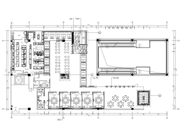 [福建]混搭风格——诺米丁餐厅全套施工图(附效果图)