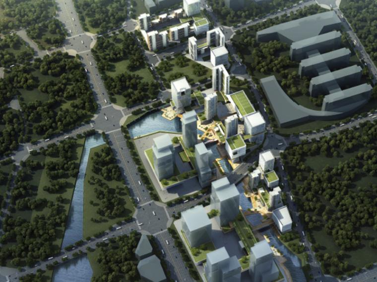 [北京]未来科技城居住区建筑方案文本