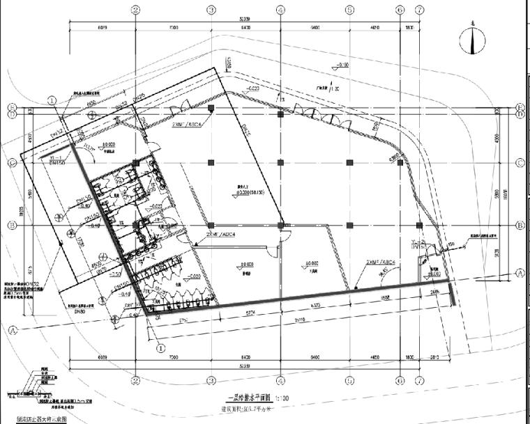 深圳观澜体育公园游泳馆给排水设计施工图(PDF)