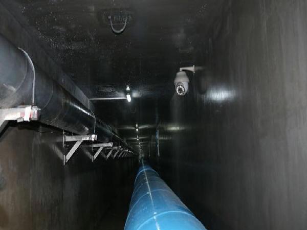 滕州首条高标准建设的平安路综合管廊,每公里造价1.2亿元...