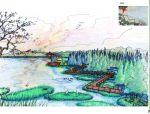 【北京】京南小镇景观概念分析|棕榈