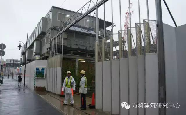 安全防护棚等标准图样资料下载-标准精细化管理、高效施工,近距离观察日本建筑工地!