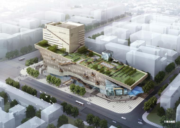 [四川]图书馆建筑设计方案文本