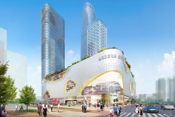 天津现代城A区旋挖钻机成孔灌注桩施工方案