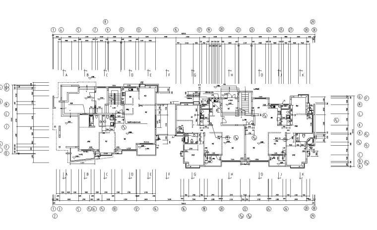 [广东]山水人家景观施工图设计(包含210个CAD+现场照片)-住宅平面图