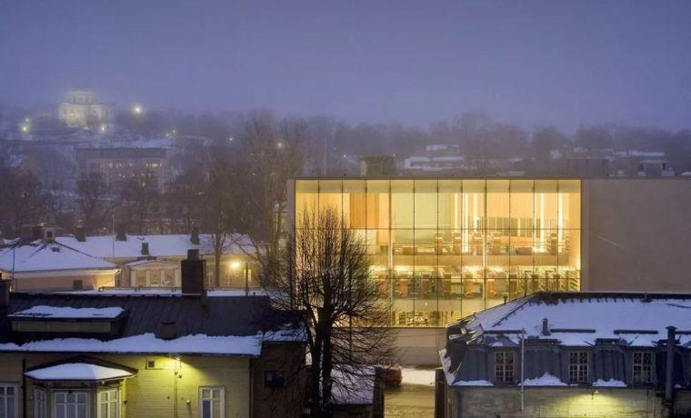 冬日最想去的圖書館