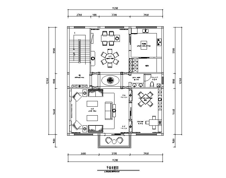 现代奢华别墅设计施工图(附效果图)
