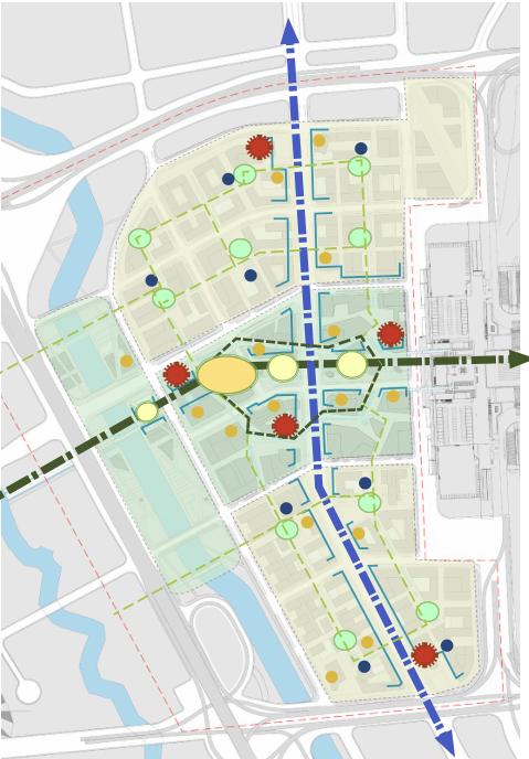 [上海]现代风格低碳城市综合体建筑设计方案文本_8