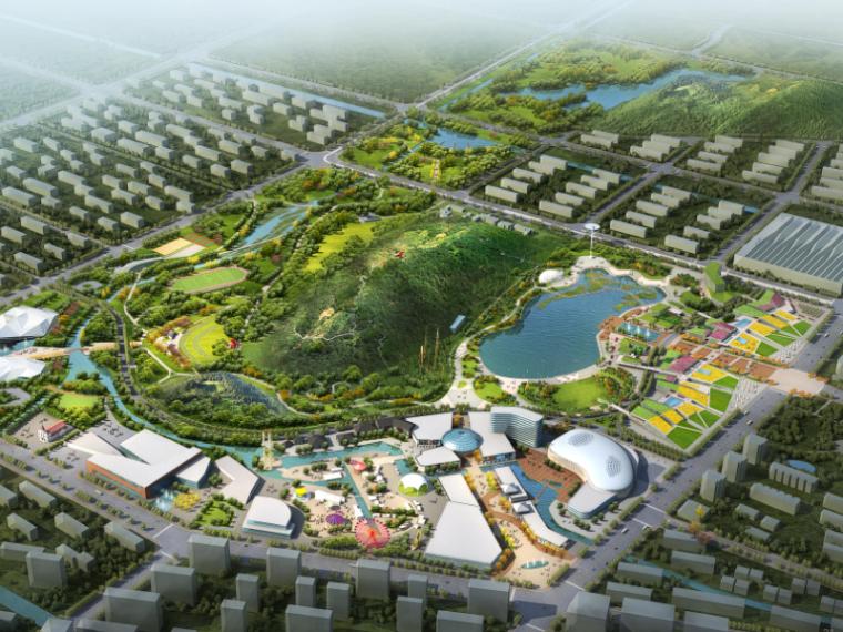 [江苏]苏州高新区狮山周边公园设计(商业休闲娱乐)