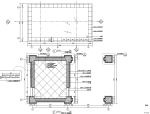 小区入口岗亭景观节点施工图