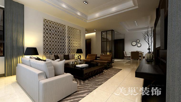 绿城百合160平黑白简约装修,TI男的现代质感四居室