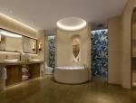 浪漫浴室间3D模型下载