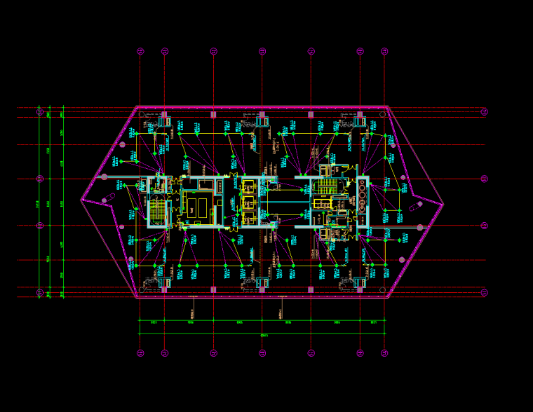 插座平面图
