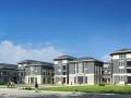 新中式风格中学建筑设计方案文本