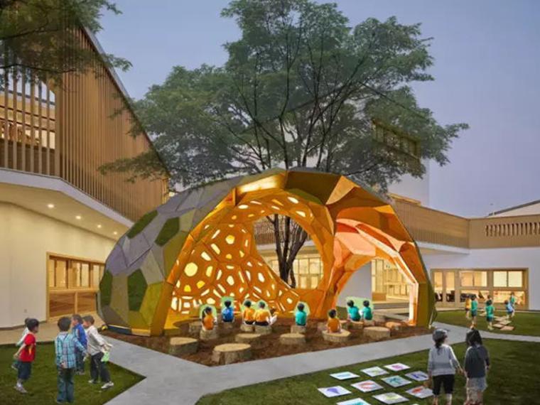 你需要知道的幼儿园景观设计法宝,责任大于天!