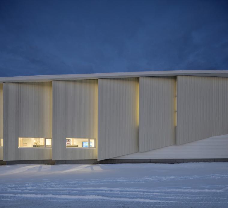 挪威格里姆斯塔德图书馆-5