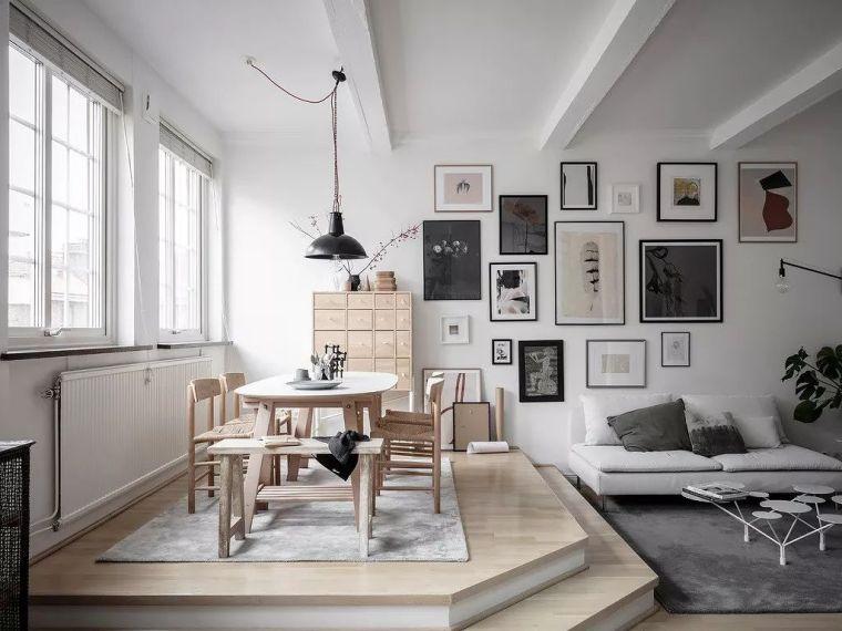 67㎡ 北欧风 LOFT 设计,造就清新文艺生活