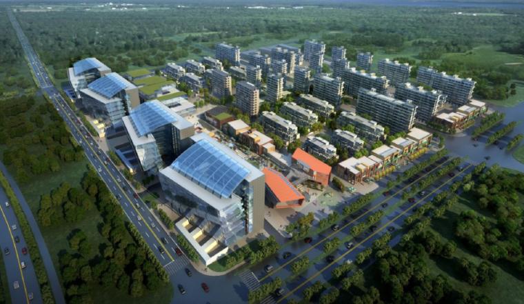 [上海]虹桥11号地块项目规划设计方案文本