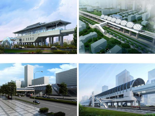 含33座车站37.3km轨道交通工程工可修编汇总(含工可542页,图纸215张,初勘报告9份)
