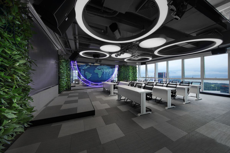 新态互联办公空间设计