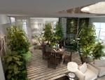 现代休闲品茶室3D模型下载