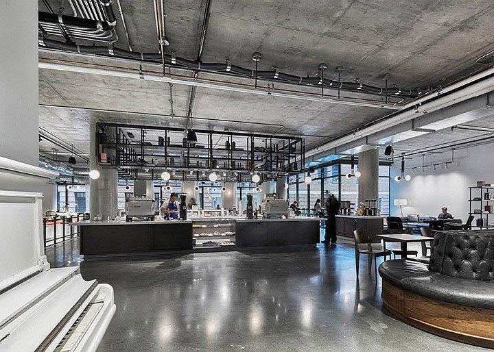 Dropbox总部咖啡区-1