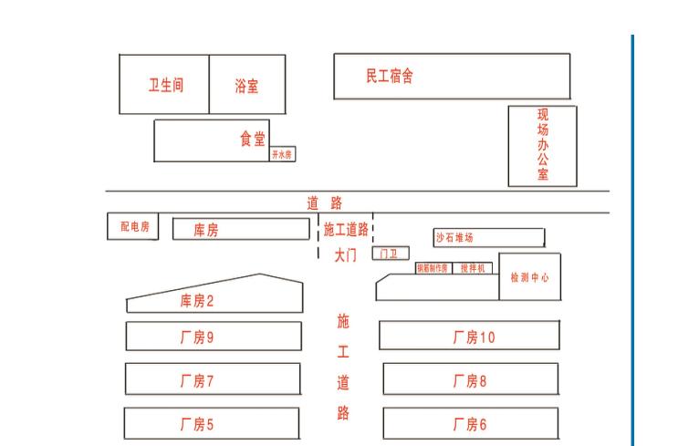 基建工程钢结构施工组织设计(共61页,图文)