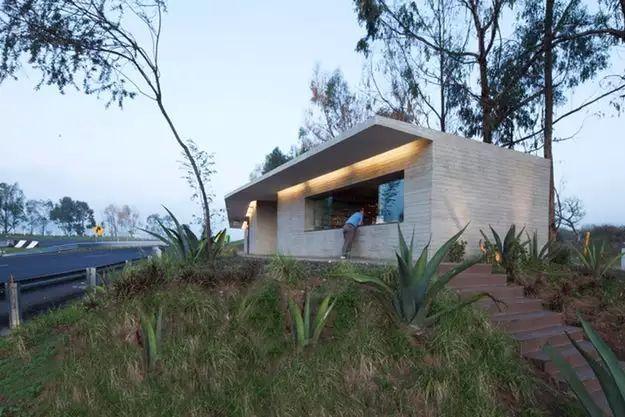 墨西哥充满活力的建筑场景_25