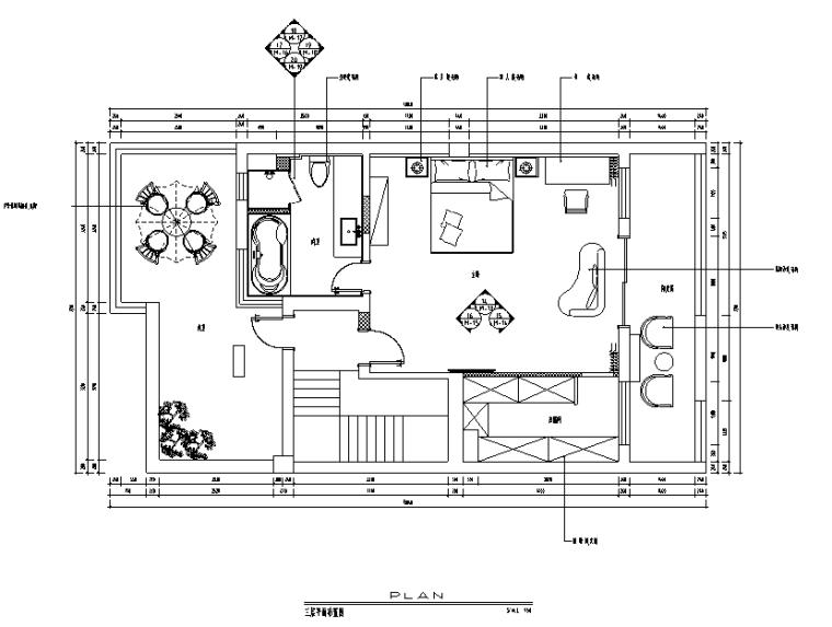 海和院简约别墅设计施工图(附效果图)_2
