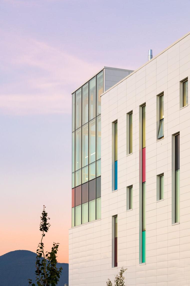 加拿大带有彩色元素的外立面艺术学院-3