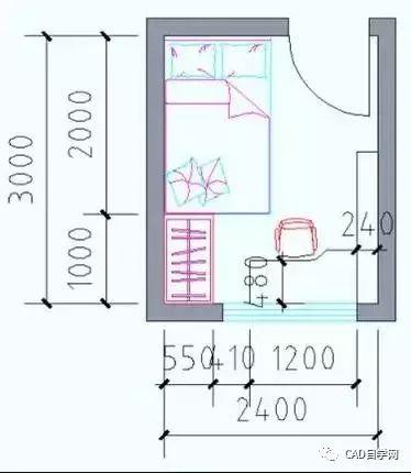 设计师终极福利!所有户型室内设计尺寸图解分析,建议永久收藏!_24