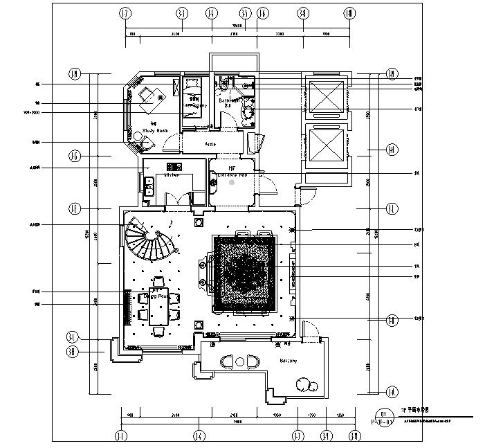 法式奢华中梁别墅设计施工图