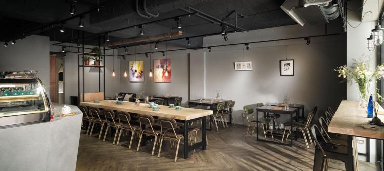 台湾工业风格咖啡馆-8