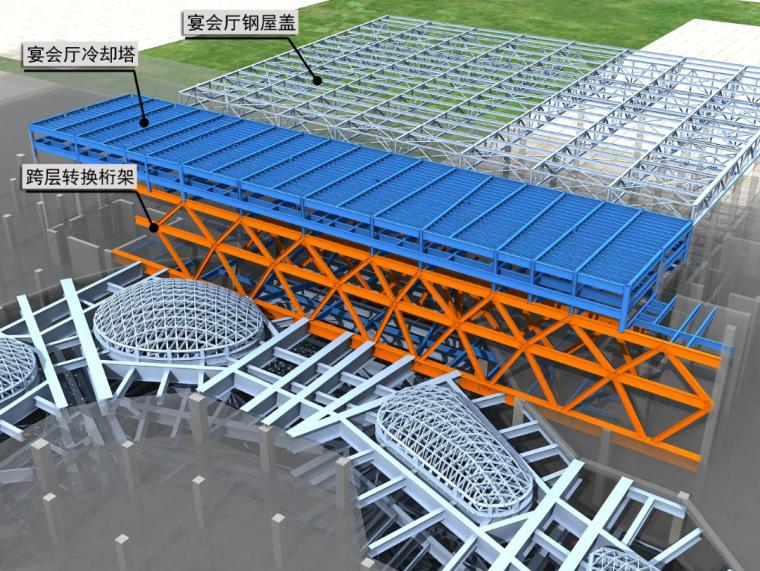 环球金融中心项目施工总承包工程钢结构钢筋桁架板技术交底