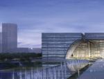 """[江苏]常州市""""三馆一中心""""建筑方案设计"""