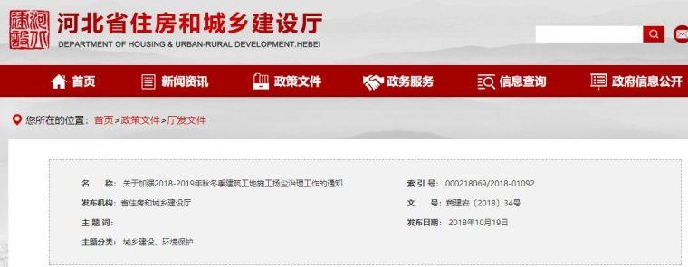"""河北省出新规:防止建筑施工工程停工""""一刀切"""""""