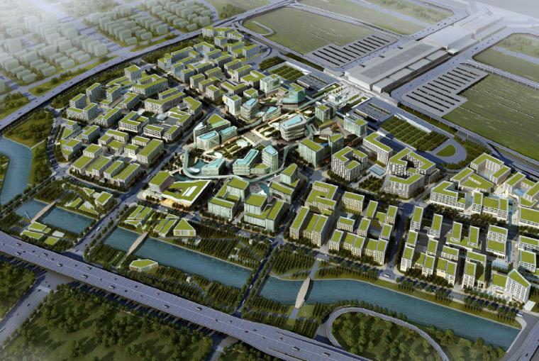 [上海]虹桥商务区SBA规划设计方案文本