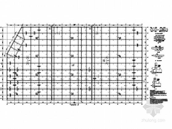 地下三层框架结构车库结构施工图