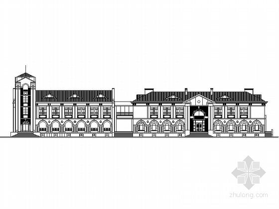 [江苏]简欧风格近代史博物馆建筑设计施工图(知名设计院)
