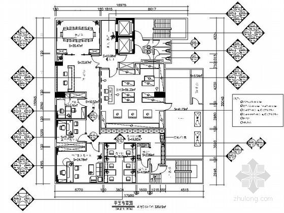 [香港]某神召会行政办公室室内装修施工图(含效果实景)