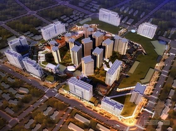 [四川]高层现代风格城市综合体设计方案文本