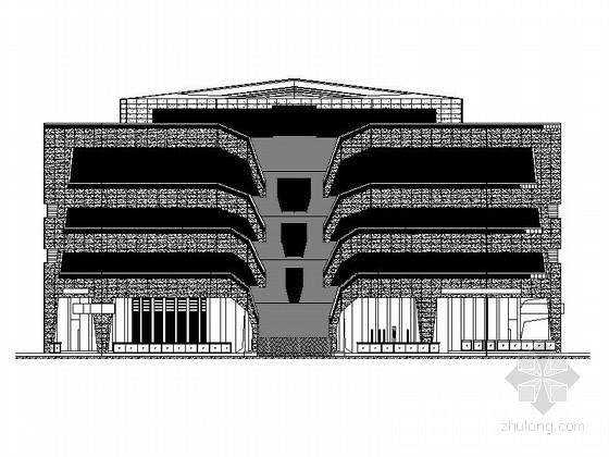 [福建]四层现代风格地铁站配套用房建筑施工图(2015年图纸 知名设计院)