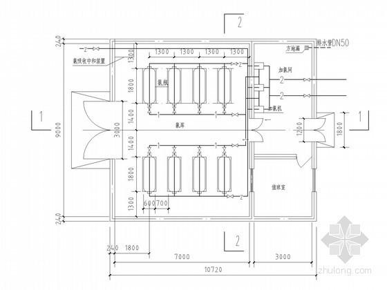 V型滤池毕设资料下载-[天津]10万吨给水厂毕业设计全套图纸(含设计说明书)