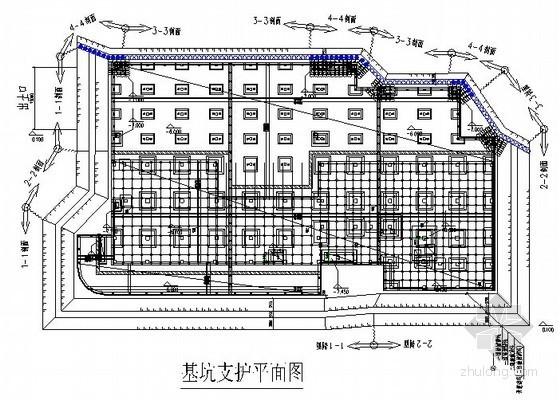 [江苏]钻孔灌注桩及双轴搅拌桩基坑支护施工组织设计