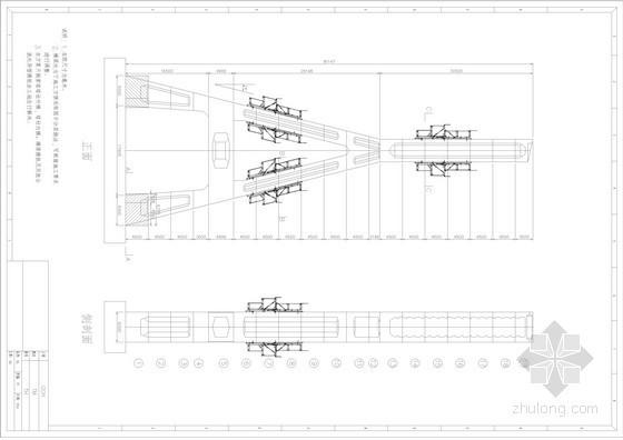 斜拉桥主塔液压自爬模施工方案(附CAD施工图)