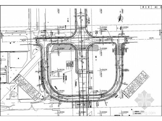 [江苏]双向六车道一级公路道路工程施工图设计151张(含交通工程)